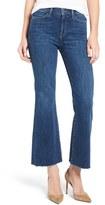 MiH Jeans Women's 'Lou' Raw Hem Crop Flare Jeans