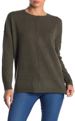 Catherine Malandrino Cashmere Crew Neck Dolman Sweater