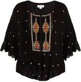 Velvet by Graham & Spencer Alisdair embellished top