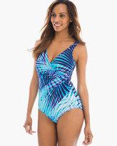 Chico's Palm Reader Oceanus One-Piece Swimsuit