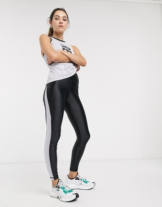 Reebok Training high rise leggings in black hi