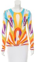 Missoni Abstract Print Long Sleeve Top