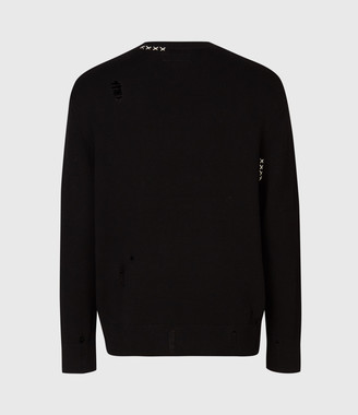 AllSaints Destroy Saints Crew Sweater