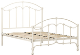 John Lewis Daisy Bed Frame, Cream, Double
