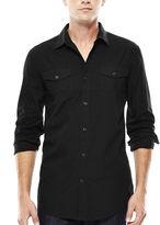 Jf J.Ferrar JF Long-Sleeve Triple-Needle Woven Shirt