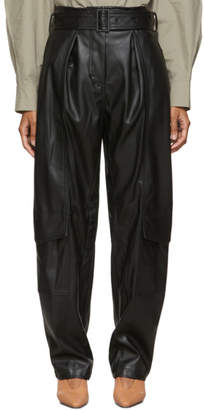 Low Classic Black Down Pocket Trousers
