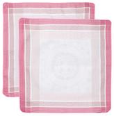 Garnier Thiebaut Abeilles Royales Parme Cotton Cushion Covers (Set of 2)
