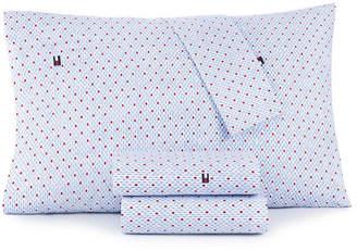 Tommy Hilfiger Diamond Lines Queen Sheet Set Bedding