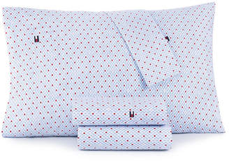 Tommy Hilfiger Diamond Lines Twin Extra Large Sheet Set Bedding