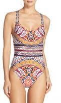 Nanette Lepore Women's Woodstock Goddess One-Piece Swimsuit
