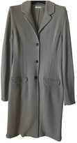 Malo Grey Cashmere Coat for Women
