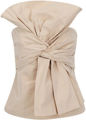 Givenchy Bow Bustier Top