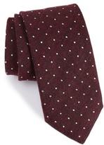 Canali Men's Textured Dot Silk Tie