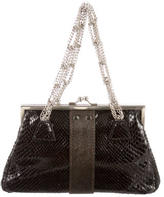 Yigal Azrouel Snakeskin Handle Bag
