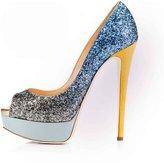 Arc-en-Ciel women's platform shoes peep toe high heel-us