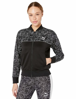 Puma Women's Classics All Over Print Track Jacket