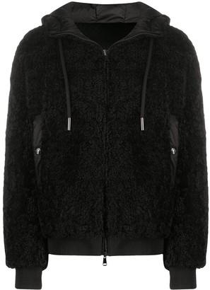 Moncler Reversible Fleece Padded Jacket