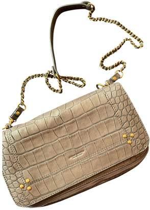 Jerome Dreyfuss Bobi Grey Leather Handbags
