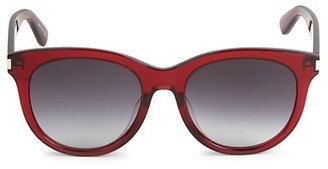 Saint Laurent Core 55MM Square Sunglasses