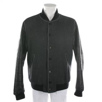 Moschino Grey Wool Jackets