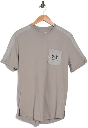 Under Armour Sportstyle Short Sleeve Pocket Tee