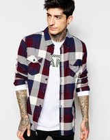 Vans Checked Flannel Shirt - Red