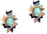 Thumbnail for your product : Lele Sadoughi Santa Fe Stone Button Earrings