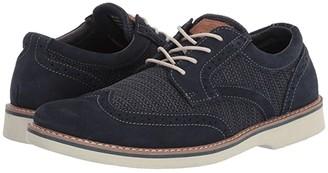 Nunn Bush Barklay Wing Tip Oxford (Stone Multi) Men's Shoes