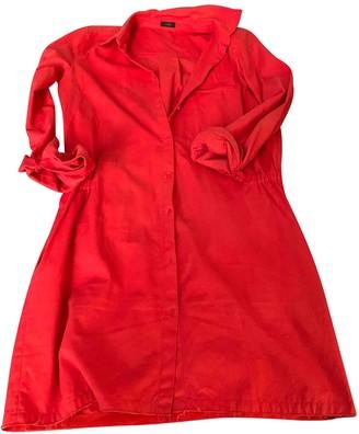 Joseph Red Cotton Dresses