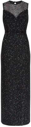 St. John Confetti Sequin Gown
