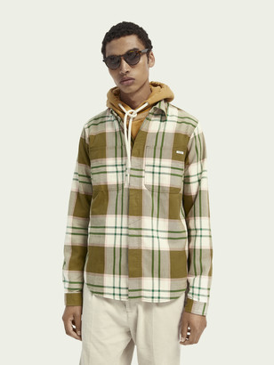 Scotch & Soda Mid-weight flannel shirt | Men