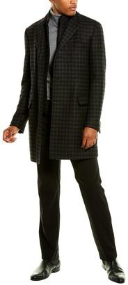 Corneliani Wool & Cashmere-Blend Top Coat