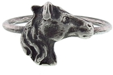 Workhorse Whitney - Horse Ring in Sterling Silver