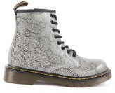 Dr. Martens Delaney Snakeskin Effect Leather Boots with Zip