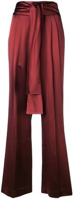 3.1 Phillip Lim Waist-Tie Crepe Pant