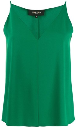 Paule Ka loose-fit sleeveless top