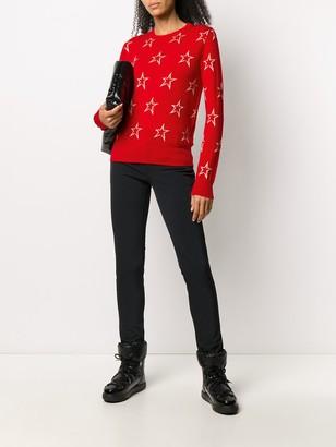 Perfect Moment Floro intarsia knit jumper