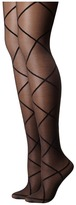 Pretty Polly Sheer Diamond Tights Sheer Hose