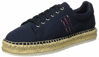 Tommy Hilfiger Women's Nautical Th Lace Up Espadrille Open Toe Heels