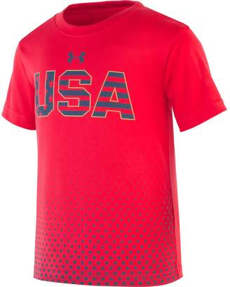 Under Armour Boys' Pre-School UA Stars & Stripes Short Sleeve
