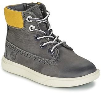 Timberland GROVETON 6IN LACE WI girls's Mid Boots in Grey