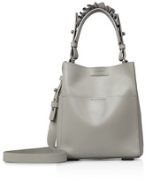 AllSaints Maya North/South Mini Leather Tote