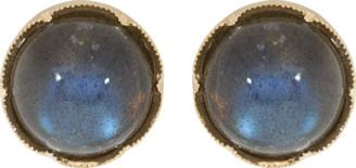 Irene Neuwirth Jewelry Cabochon Labradorite Studs