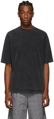 Balenciaga Grey BB Regular T-Shirt