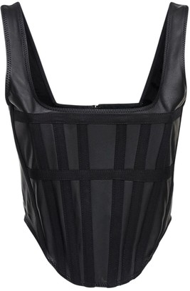 Dion Lee Leather Corset Top