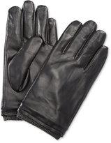 Ryan Seacrest Distinction Men's Leather Gloves, Only at Macy's