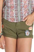 Billabong Girl's Sea & Me Twill Shorts