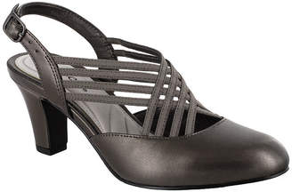 Easy Street Shoes Womens Sapphire Round Toe Spike Heel Pumps