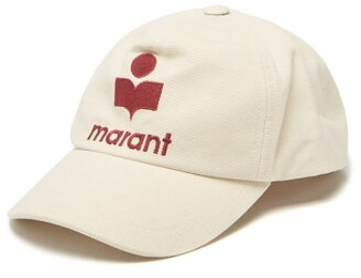 Isabel Marant Tyron Logo-embroidered Canvas Baseball Cap - Beige