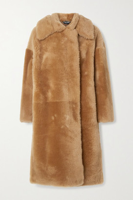 Tom Ford Shearling Coat - Camel